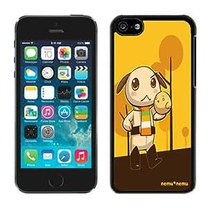 Fashionable DIY Custom Designed Nemu-Nemu Cover Case For iPhone 5c Black Phone Case CR-462