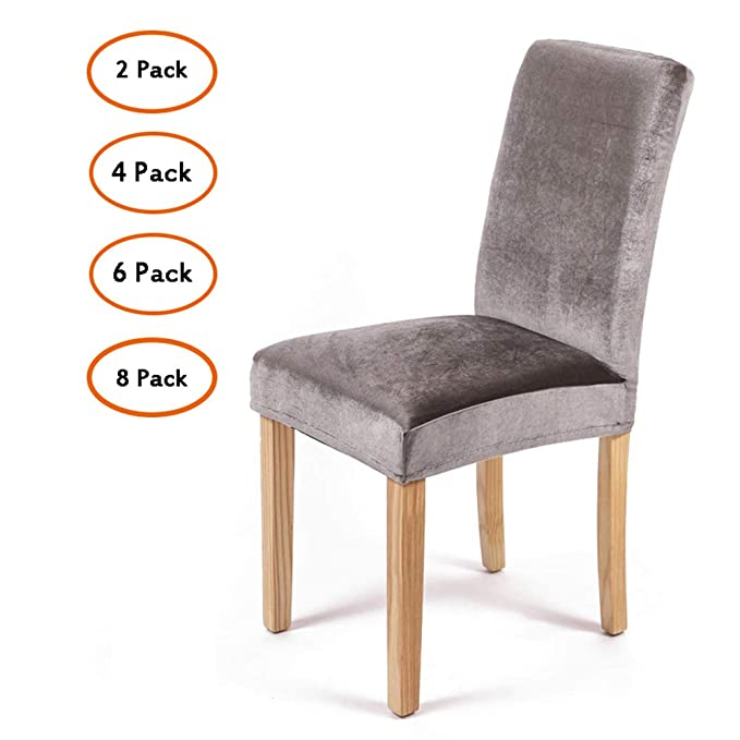 Removable Stretch Dining Chair Seat Cover Cushion Wedding Venue Decor Washable