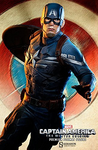 Sideshow Marvel Captain America The Winter Soldier Premium Format Figure ()