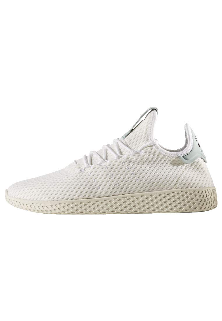 adidas Originals Men's Pharrell Williams Human Race White/White/Green 4 D US D (M)