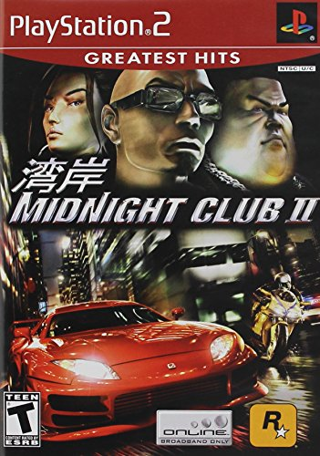 Midnight Club 2 (Complete Ps2 Console)