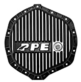 PPE HEAVY DUTY REAR ALUMINUM DIFFERENTIAL COVER BRUSHED GM & DODGE W/ 11.5'' REAR AXLE - 138051010