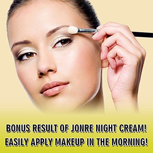 Jonre ANTI AGING NIGHT CREAM, FACE MOISTURIZER, FREE YOUR DRY ROUGH CREASED SKIN 1.7oz