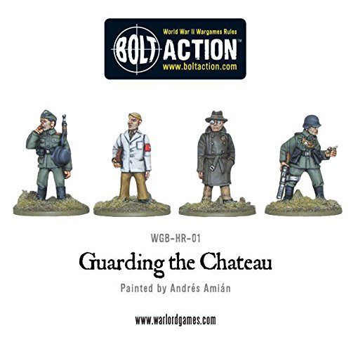 Warlord Games, Guarding the Chateau - Bolt Action Wargaming (Block Chateau)