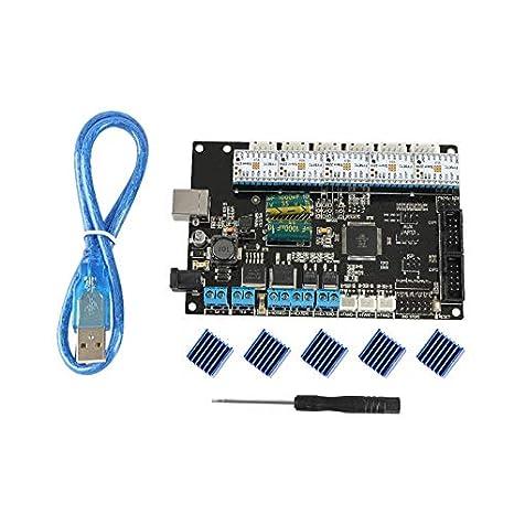 Placa base TriGorilla + 5 unids controlador ultra silencioso ...