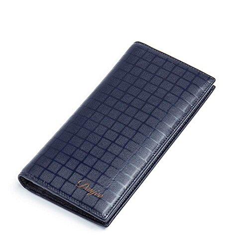 Haixin Herren hochwertige Leder Geldbörsen, Herren Business casual Geldbeutel Wallet