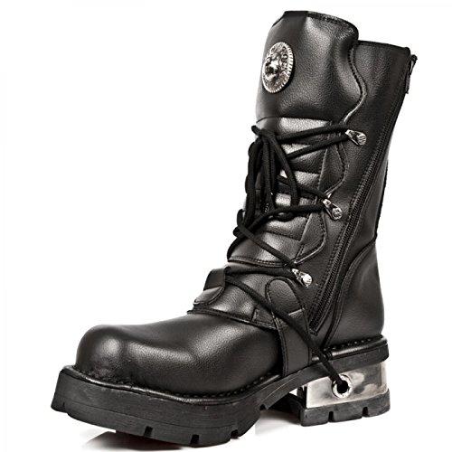 New Rock Boots M.373-s10 Gotico Hardrock Punk Unisex Stiefel Schwarz