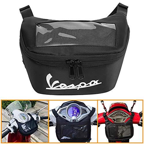 Heinmo Motorrad Satteltaschen Lenker Tasche Aufbewahrungstasche Handy Touchscreen Kopfhörer Wasserdichte Tasche für Ves…