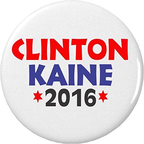 "Clinton Kaine 2016 (Hillary Tim) 1.25"" Button Pin Vote President Vice (Hillary President Button)"