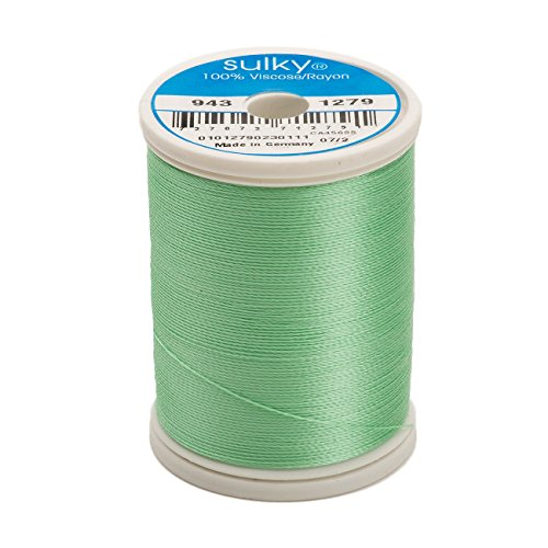 - Sulky Of America 268d 40wt 2-Ply Rayon Thread, 850 yd, Willow Green
