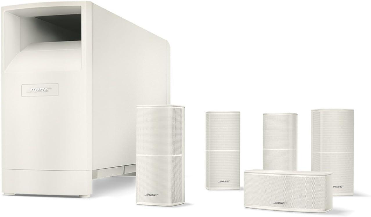 Bose® Acoustimass® 10 Series V - Equipo de Home Cinema 5.1, blanco