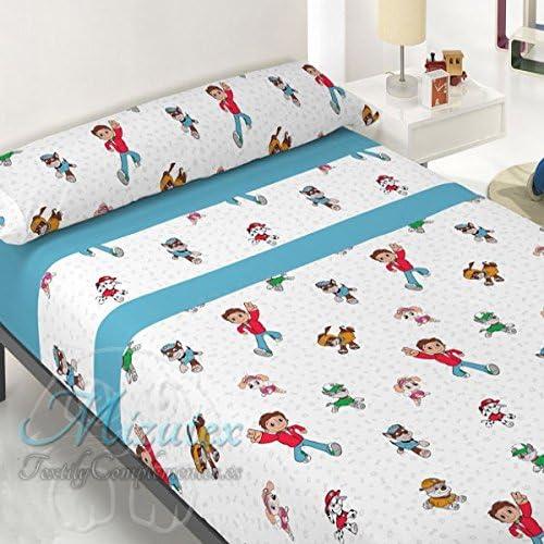 Sábanas infantil económicas similar a Patrulla canina, para cama ...
