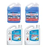 Wet and Forget (2) 64 Oz Weekly Shower Spray, (2) 1 Gallon Moss Mold Remover