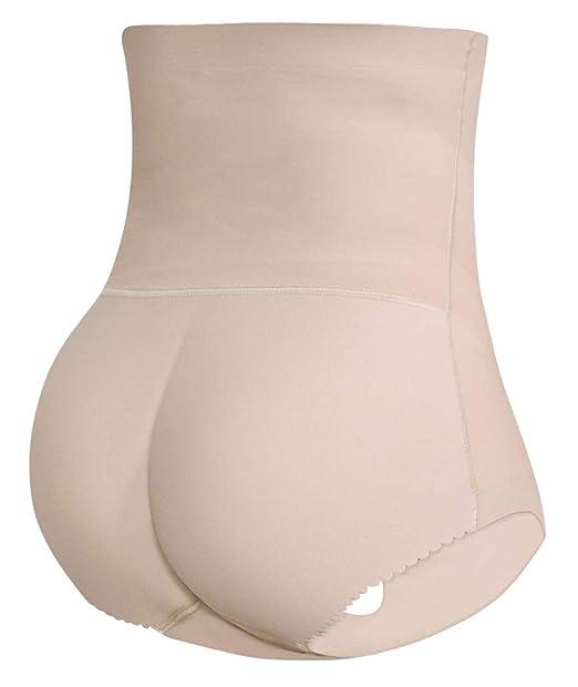 350b6e2644d Womens High Waist Butt Lifter Shapewear Tummy Control Padded Hip Enhancer  Panties Underwear (Small (