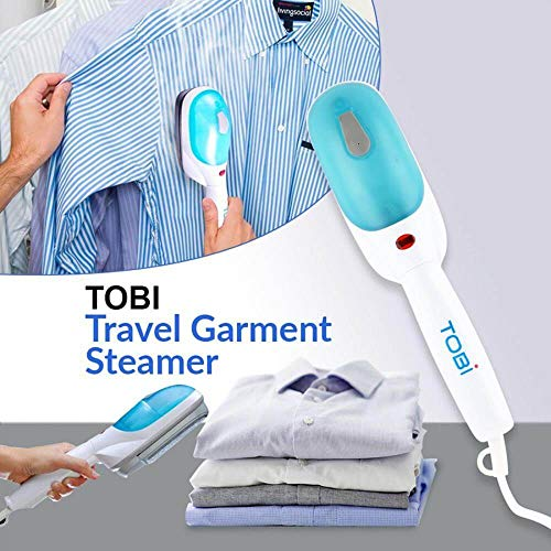 TOYDGET TOBI Steamer for Clothes - Clothes Wrinkle Remover - Fast & Powerful Heat-Up Garment...