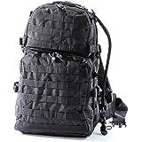 Large US Military Army Style Backpack by Monkey Paks - Bonus Waist Belt- 2.5L Water Bladder System I