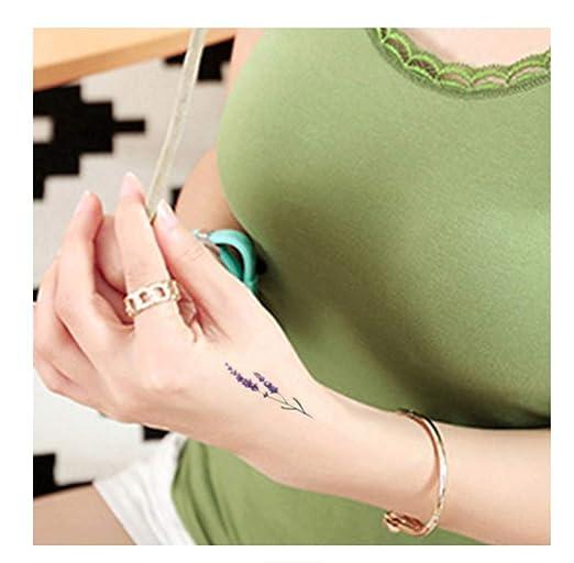 DRTHUKG Etiqueta Engomada del Tatuaje Tatuaje Temporal A Prueba De ...