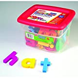 EDUCATIONAL INSIGHTS ALPHAMAGNETS JUMBO LOWERCASE 42 PCS (Set of 6)