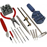 16 piece watch repair kit - SE JT6221 16-Piece Watch Repair Tool Kit