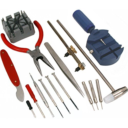 SE JT6216 21-Piece Watch Repair Kit