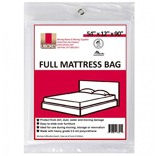 Full Bed Bag - Moving Supplies (1 Pack) Full Size Mattress Bag  54