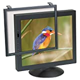 Executive Flat Frame Monitor Filter, 16''-19'' CRT, Black