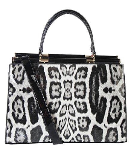 rimen-co-pu-patent-leather-leopard-structured-doctor-style-handbag-bag-bm-2753-black