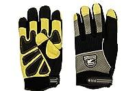 Gatorback DuraGrip Work Gloves. Goat Skin, Pig Skin, Synthetic Leather and Fingerless work gloves for electrican, carpenter, hvac, framer, etc. Tough gloves by Contractor Pro
