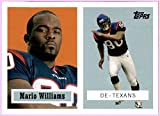 2006 Topps Turn Back the Clock #7 Mario Williams HOUSTON TEXANS N.C. STATE WOLFPACK