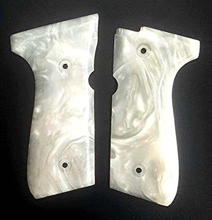 RESIN PEARL GRIPS FOR FOR BERETTA 92 FS COMPACT NEW