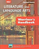 California Holt Literature and Language Arts: Warriner's Handbook, Second Course, John E. Warriner, 0030992362