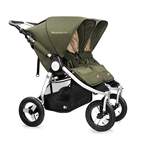Bumbleride 2016 Indie Twin Stroller (Camp Green) by Bumbleride