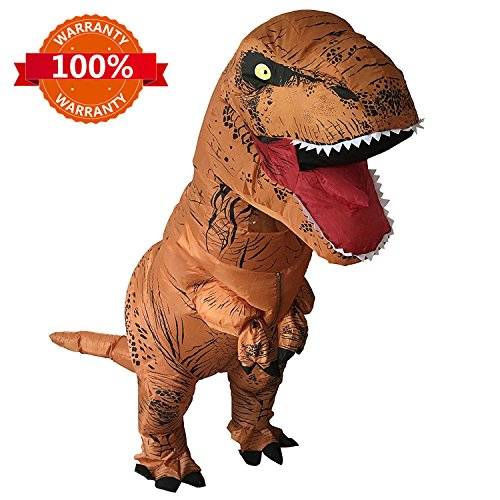 HEYMA T-Rex Costume Inflatable Dinosaur Costume for Adult Halloween Inflatable Costume by HEYMA
