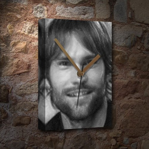 SEANN WILLIAM SCOTT - Canvas Clock (LARGE A3 - Signed by the Artist) #js001