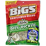 BIGS Vlasic Dill Pickle Sunflower Seeds, 5.35-Ounce Bags (Pack of 12) by BIGS