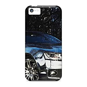 Hot Cli28437vzmd Audi A5 Chrome Cases Covers Compatible With Iphone 5c