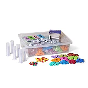 hand2mind Eureka Math Curriculum Basics Kit for Kids (Grade 5+) - Essential Products Needed to Support The Curriculum | Comes with Convenient Storage Tote