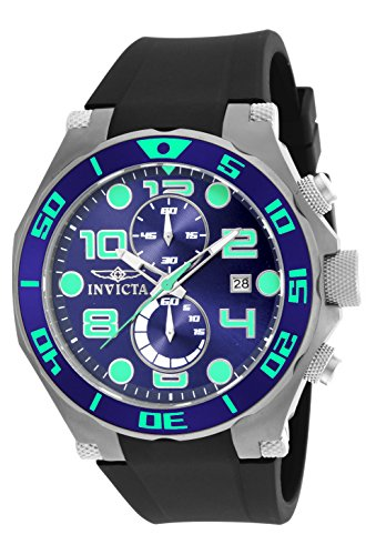 Invicta Men's 17813 Pro Diver Analog Display Quartz Black ()