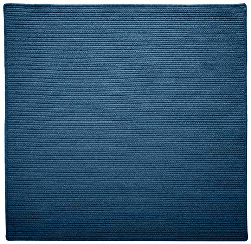 Westminster Square Area Rug, 12 by 12-Feet, Federal Blue