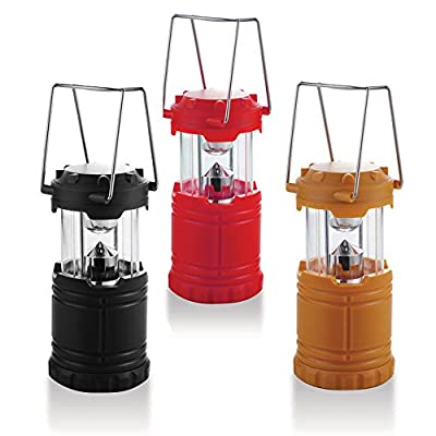 Xtreme Bright Camping Lantern - Fully Collapsible with 7 LED Lights, Weighs only 6 Oz.