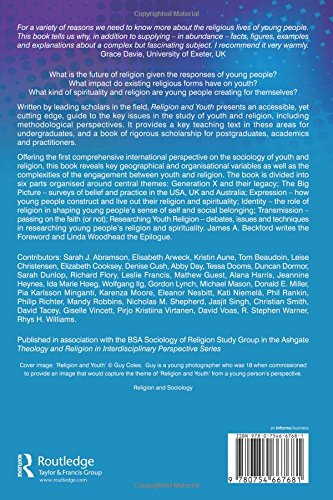 Religion And Youth Theology And Religion In Interdisciplinary