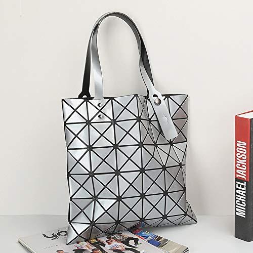 minimalista Bag hombro bag bolsa satchel Deportes Shoulder Ocio de Single Plateado Outdoor XULULU qgROUS