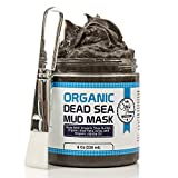 Dead Sea Mud Mask & Free Face Brush - HUGE 9.3oz - Clears