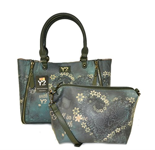 Borsa Y Not reversibile art.k47 green