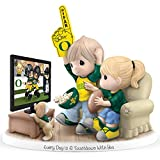 Precious Moments Every Day Is A Touchdown With You University of Oregon Ducks Figurine by The Hamilton Collection