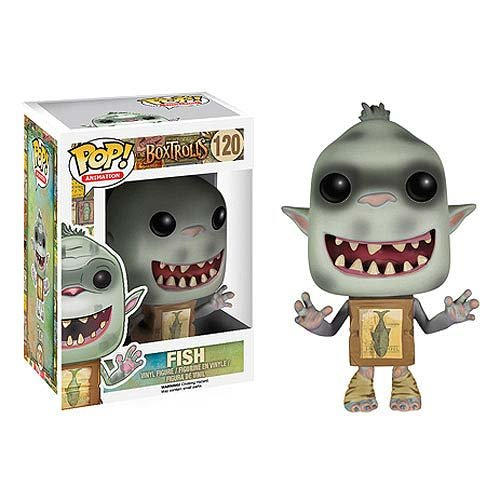 he Boxtrolls Fish Figure ()