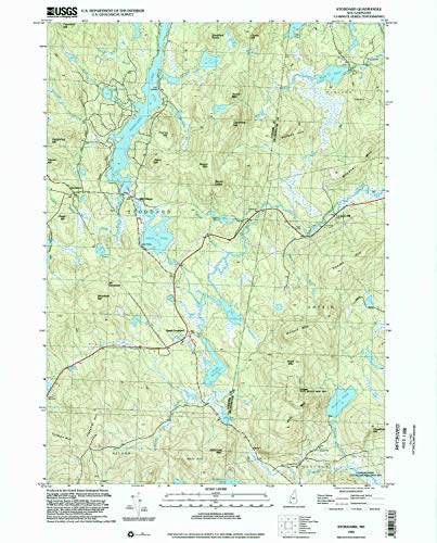 Hill Rollstone (YellowMaps Stoddard NH topo map, 1:24000 Scale, 7.5 X 7.5 Minute, Historical, 1998, Updated 2002, 26.8 x 21.6 in - Tyvek)