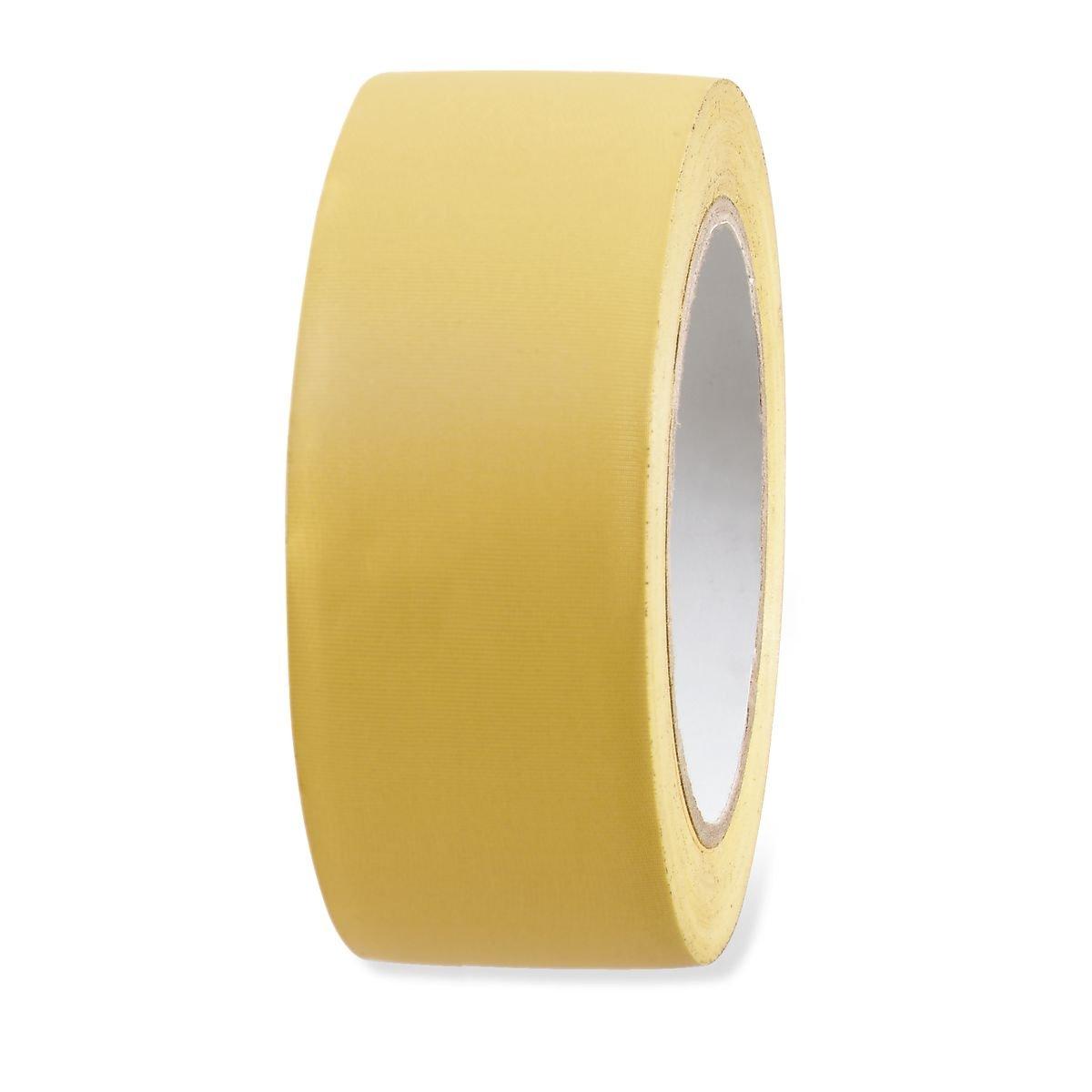 5 Rollen UV Putzerband PVC Schutz Band gerillt gelb 50mm x 33m Klebeband Oberfl/äche