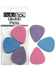 BoloPick Felt Picks for Ukulele 6 Pack (katy)