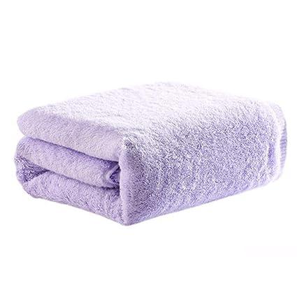 SYXLTSH Toalla de baño algodón Adulto Pareja Suave Conjunto Absorbente Color sólido Agradable para la Piel